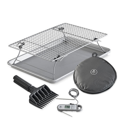 Half Sheet Pan & Baking Rack Meal Set