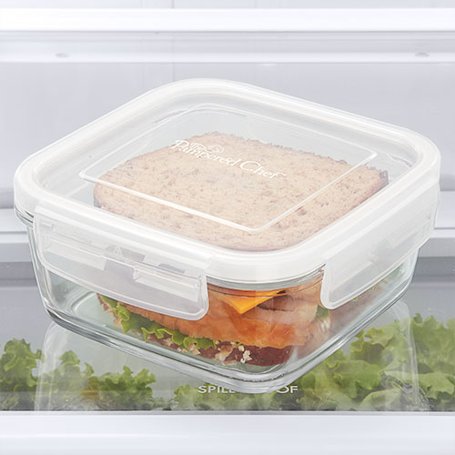 3-cup(750ml) Leakproof Glass Container