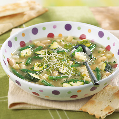 Green Vegetable Minestrone